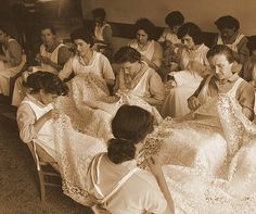 Lace makers