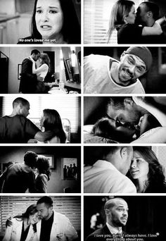 April and Jackson belong together. #greysanatomy
