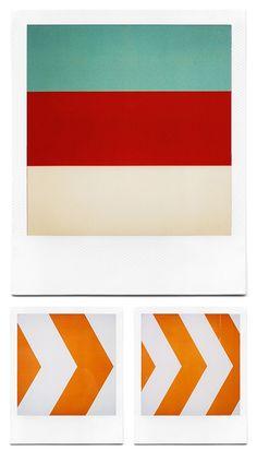 Geometric polaroids. Love.