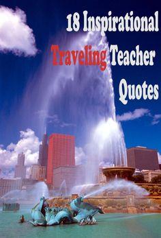 traveling teacher quotes