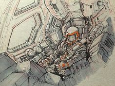 US Mars Expedition Space Pilot
