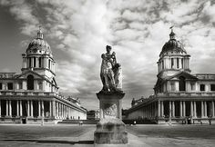 The old Royal Naval College at Greenwich - most recently seen in the Les Miserables film.