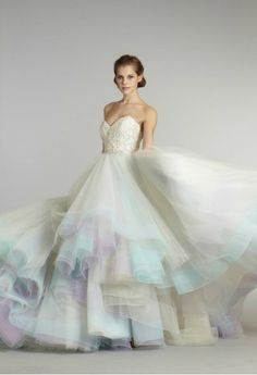 This dress mimics the Barbie dress I e wanted to get married in ever since I was a child. Wedding dress!