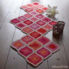 DIY – Bobble stitch bokstäver och ord Crochet Bedspread Pattern, Crochet Baby Blanket Free Pattern, Baby Afghan Crochet, Granny Square Crochet Pattern, Crochet Squares, Crochet Patterns, Crochet Heart Blanket, Bobble Crochet, Crochet Daisy
