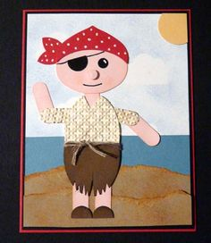 2012-09-18 - SUO Punch Art Pirate CF by CrysCraft - Cards and Paper Crafts at Splitcoaststampers