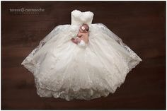 All because two people fell in love:) mama's wedding gown, newborn photography newborn photography
