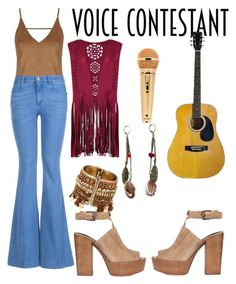"""The Voice"" by ninaaweena ❤ liked on Polyvore featuring Topshop, STELLA McCARTNEY, Rebecca Minkoff, thevoice and YahooView"
