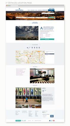 Protea Hotels Redesign on Behance Hotel Website, Hotels, Behance