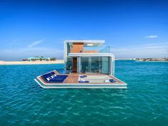 Live Underwater in Dubai: First floating home First 50 floating seahorses will be handed over in October 2016