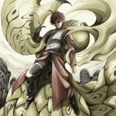 Garra Of the Sand Naruto