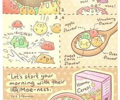 Discovered by Find images and videos about food, hamster and hammu on We Heart It - the app to get lost in what you love. Cute Food Drawings, Cute Kawaii Drawings, Kawaii Art, Cool Drawings, Easy Food Art, Cute Food Art, Cute Bakery, Animal Food, Boy Names