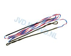 Flex Bowstring 8125 Supra Red-White-Blue | 101368-1000 | JVD Distribution Bow Accessories, Red White Blue, Archery, Bows, Bow Arrows, Arches, Field Archery, Bowties, Bow