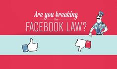 Is your #Facebook contest legal? - #Infographic #socialmedia