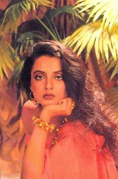 the most beautiful bollywood actress ever, Rekha.