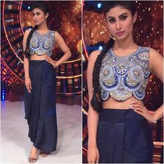 @imouniroy Outfit - @roshnichopradesign Styled by - @rishika_devnani #bollywood… - Mouni Roy Photographs  IMAGES, GIF, ANIMATED GIF, WALLPAPER, STICKER FOR WHATSAPP & FACEBOOK