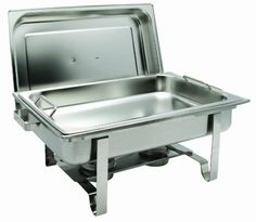 Get-A-Grip Chafer with Food Pan Handles C-2080B 8Qt Stainless Steel ** Find out more details by clicking the image : Specialty Cookware