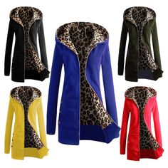 Package includes: 1 x Women's Coat. More Athletic Apparel. More Fashion Tops. More Lady Dress. Asia Size: S-2XL( Note:Please compare the detail sizes with your before you buy!!!