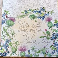 On a hot summer day, why not cool off by watercolor painting?#painterlydays,#artforjoysake