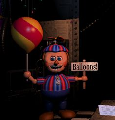 Balloon boy on pinterest five nights at freddy s fnaf and balloons