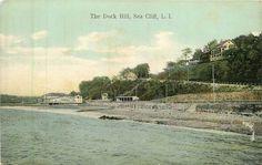 The Dock Hill,  Long Island, Sea Cliff,  1910