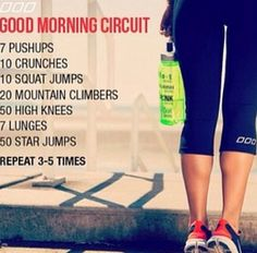 morning workout - This is awesome