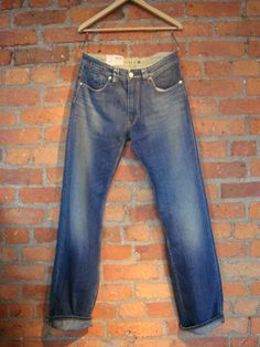 "KUYICHI Mens 'Jeff' 57-66 straight Jeans 32"" RRP £110 now only £52"