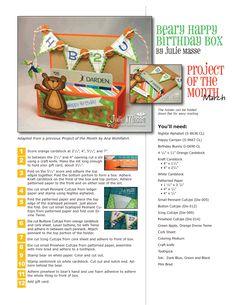 cute gift card holder box