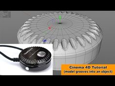 Grooves into an object (Cinema Tutorial) no Vimeo Cinema 4d Tutorial, 3d Tutorial, Digital Art Tutorial, 3d Cinema, Maxon Cinema 4d, Good Tutorials, Design Tutorials, Motion Design, Cgi