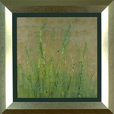 The hand-made artwork is constructed of high-quality matting and commercial-quality frames.