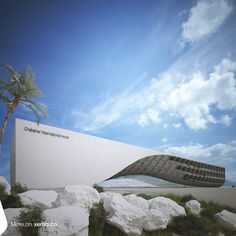 Chabahar Hotel | Chabahar, Iran | 45000 M2 |  Designer: Reza Mafakher ■ more info : http://www.xemaarchitects.com/projects/detail/93 ■ #chabahar_hotel #residential #architecture #xema #avantgarde #rezamafakher #interiordesign #exteriordesin #xema_the_evolutionizer