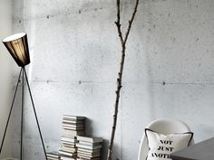 'Concrete' Wallpaper by Tom Haga ~ I'm sort of torn on this one.kind of lame. However, if you can't pour a concrete wall, I guess it's better than some flowery wallpaper , right? Look Wallpaper, Flowery Wallpaper, Unique Wallpaper, Wall Wallpaper, Cool Wallpapers Designs, Wallpaper Designs, Cinder Block Walls, Concrete Interiors, Beton Design