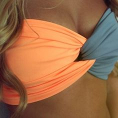 DIY spandex bandeu tube top bathing suit.. This site has no info soo I guess that means I have to Wing it :)