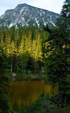 emerald Lake, alpine lakes wilderness, washington - photo by crest pictures