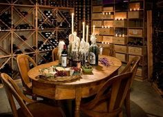 Wine-Tasting Room, with or adjacent to your Wine Cellar.