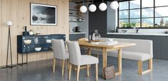 Sophie I Forcher Dinning Table, Kitchen Dining, Dining Room, Dream Home Design, House Design, Crittall, Handmade Furniture, Flooring, Life Photography
