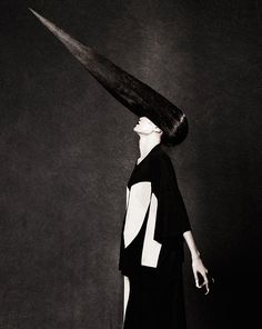 Amazing Avant-Garde Hairstyles by Peter Gray.