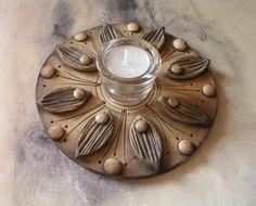Výsledek obrázku pro kometa keramika Hand Built Pottery, Slab Pottery, Pottery Bowls, Ceramic Pottery, Ceramic Art, Paper Clay Art, Ceramic Candle Holders, Play Clay, Pottery Classes