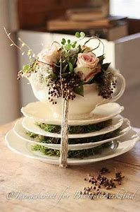 Image result for teapot centerpieces ideas