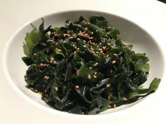 https://flic.kr/p/NdEYTh | Ensalada de alga wakame | Alga wakame. koketo.es/alga-wakame @chefkoketo