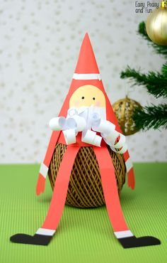 Paper Cone Santa Cra