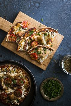 Turkish Pizza With Spiced Lamb