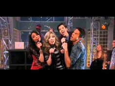 Leave it all to shine Icarly and Victorious Used to like this song....when it came out and I heard it for the first time until couple of days....I don't even like Icarly or Victorious....I just watch it for boredom.... Now I barely even care bout it...but why do I sing to it...still......