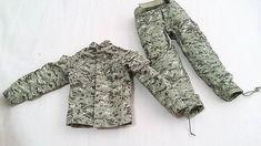"1/6 scale Saturday Toys USA Army Digital Camo BDU+belt for 12"" figure use #SaturdayToys"