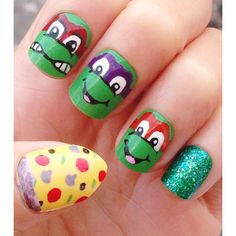 TMNT nails!