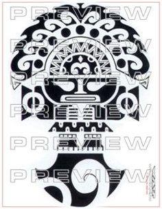 amazing tribal tumi tattoo design inspired by prehispanic ceremonial ...