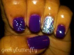 purple/sliver/stripes/dots