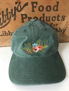 62ab055d739 Eleanor Floral Hat. Outfits With HatsBaseball Hat OutfitsCute ...