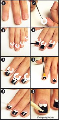 How to paint your nails perfectly with designs images nail art not everyone is born with the talent for painting nails perfectly not everyone is born with prinsesfo Choice Image