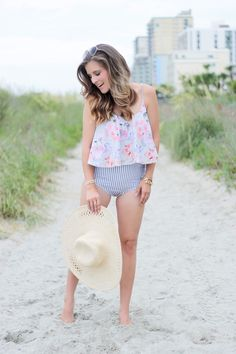 Summer isn't over yet, and today I'm sharing a swimwear brand, Kortni Jeane, that has a fit for every body type! I think every girl has felt uncomfortable in a bathing suit at least once. I know that after I had our daughter, I went through a hard patch at becoming comfortable in my own skin again. ...