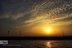 breakwater by muhsinbey  breakwater clouds haydarpaşa istanbul light marmara sea seascape sky sun sunset turkey water breakwa